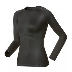 Odlo Shirt ML Evolution X-Warm Femme - noir