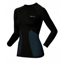 Odlo Shirt ML Evolution Warm Femme - noir