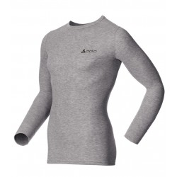 Odlo Shirt ML Warm Homme - gris