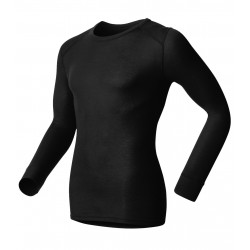 Odlo Shirt ML Warm Homme - noir