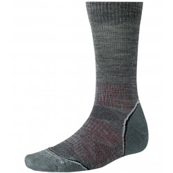 Smartwool PhD Outdoor Light Crew Homme - anthracite