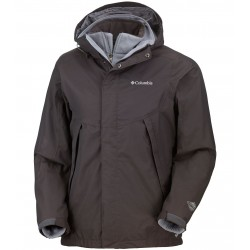 Columbia Sestrieres Interchange Jacket Homme - marron