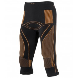 X Bionic Accumulator 3/4 pants Homme - noir/orange