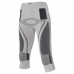 X Bionic Accumulator 3/4 pants Femme - blanc/anthracite