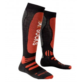 X Socks Ski All Around Homme - noir/rouge