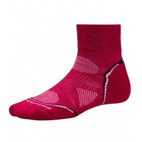 Smartwool Phd Run Ultra Light Mini Femme - fuschia