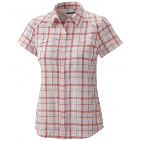 Columbia Silver Ridge Multiplaid Mc Femme - corail