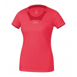 Gore Running Wear Air 2.0 lady shirt Femme - Corail