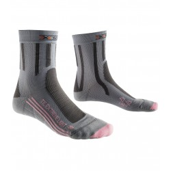 X Socks Trekking extreme light Femme - gris/rose