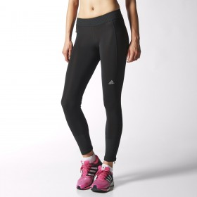 Adidas Clima Heat brushed collant Femme noir collant