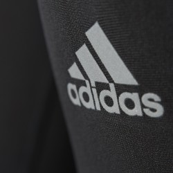 Adidas Clima Heat brushed collant Femme noir logo adidas