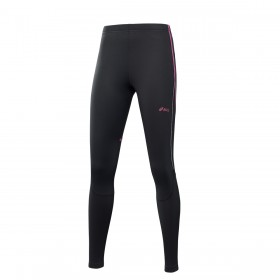 Asics Winter tight Femme - noir/rose