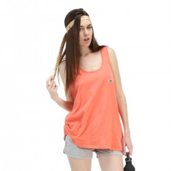 Picture Organic Chothing Damon top Femme - corail