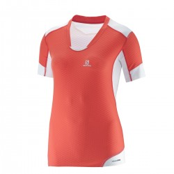 Exo pro tee Femme - corail