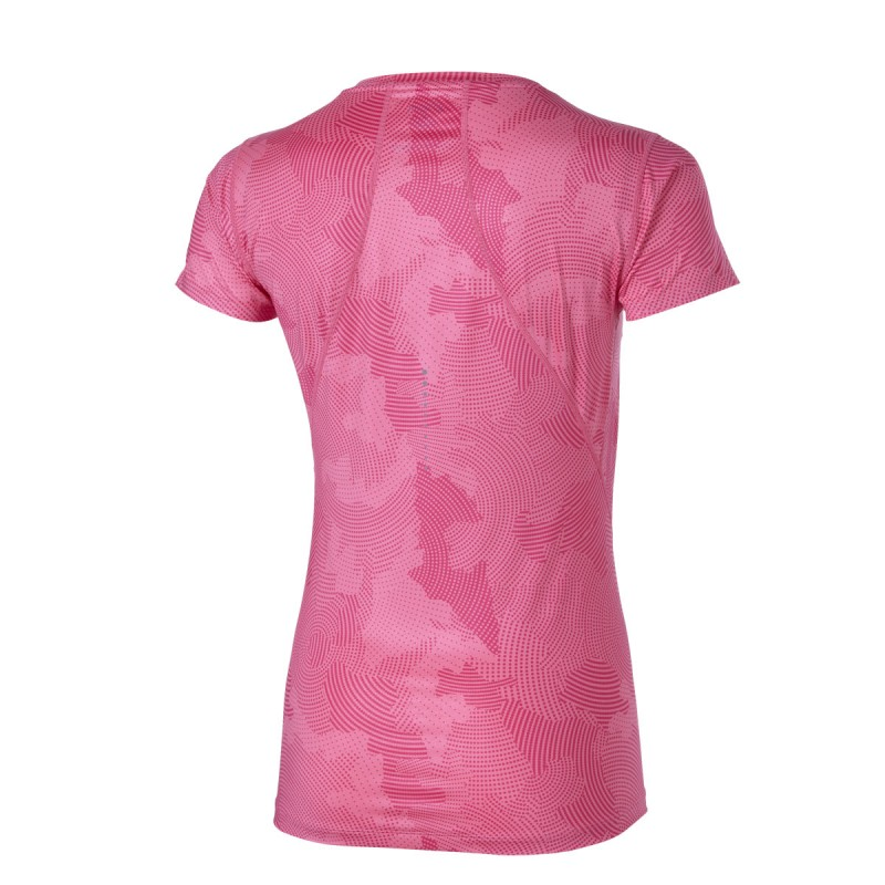 Asics Graphic top mc Femme rose t-shirt