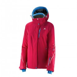 Salomon Brillant Jacket Femme - rose