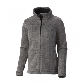 Columbia Optic Got It Herringbone III Full Zip Femme - noir chiné