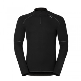 Odlo Shirt ML X-Warm Zip Homme - noir