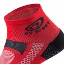 BV Sport Socquette SCR one Homme - rouge chaussette running