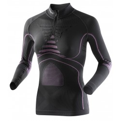 X Bionic accumulator evo turtle zip F - anthracite/fuschia