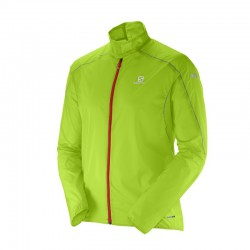 Salomon S Lab light jacket Homme - vert granny