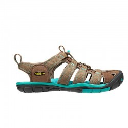 Keen Clearwater CNX Femme - taupe/turquoise