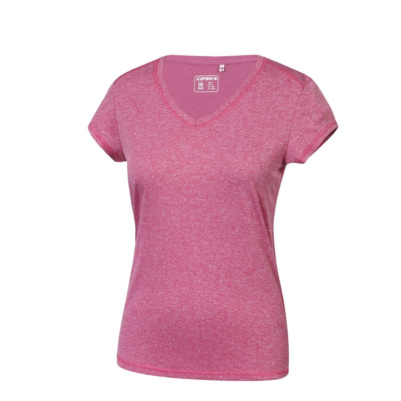 Icepeak Leigh tee Femme - rose chiné