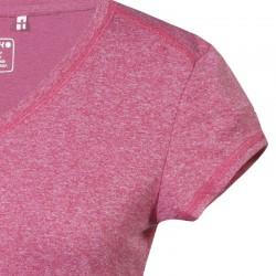Icepeak Leigh tee Femme - rose chiné T Shirt