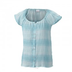 Light done right chemise Femme - turquoise