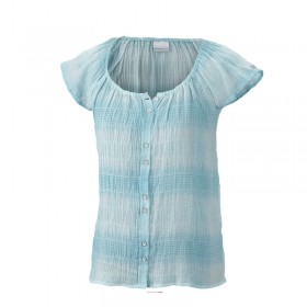 Columbia Light done right chemise Femme - turquoise