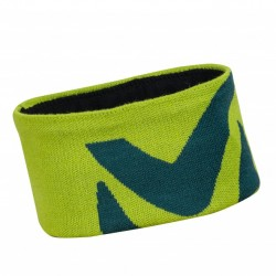 Logo Headband - acid green